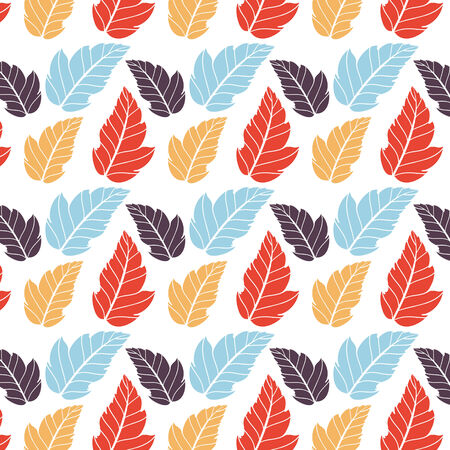Colored pattern on leaves theme. Autumn pattern with leaves.Can be used for wallpaper, pattern fills, web page background,surface textures. Wonderful autumnal texture