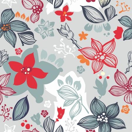 seamless Floral pattern Reklamní fotografie - 12155643
