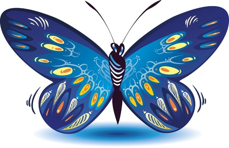 Colorful butterfly for a beautiful design Stock Vector - 12454666
