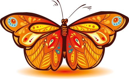 Colorful butterfly for a beautiful design Stock Vector - 12454660