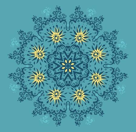 Lace pattern.