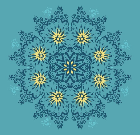 Lace pattern. Vector