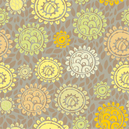 Stylish floral seamless pattern Stock Vector - 12770058