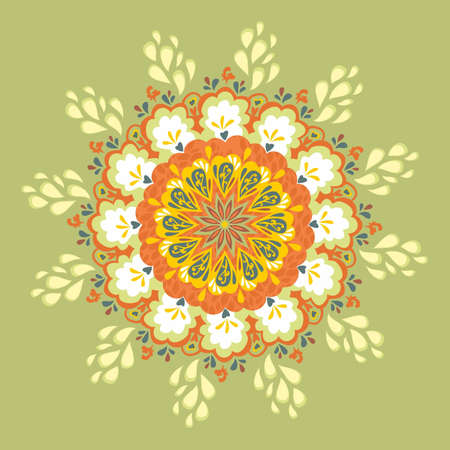 Flower Lace Pattern  Vector