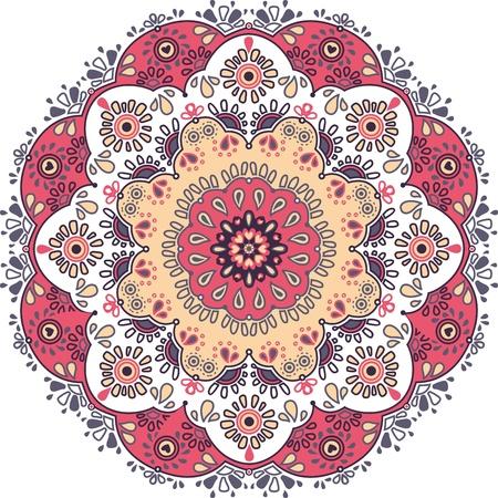 Flower Lace Pattern Reklamní fotografie - 12770083