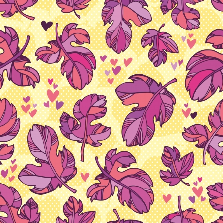 chokeberry:  colorful autumn leaves. outlines and bright colors