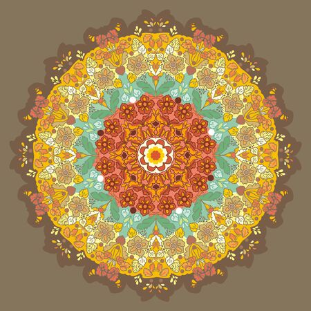 plenitude: ornamental round pattern