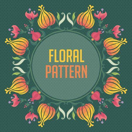 Ornamental round floral lace pattern. kaleidoscopic floral pattern, mandala. Vector