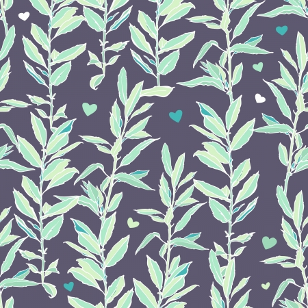 Seamless pattern with leafs. Autumn leaf background. Vector