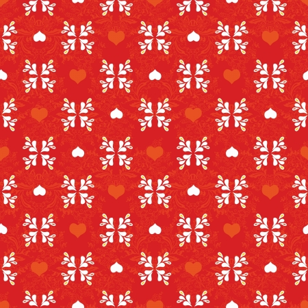 Floral pattern background with ornament Vector