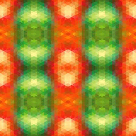 Abstract Ethnic Seamless Geometric Pattern  Vector Illustration Stock Vector - 19892021