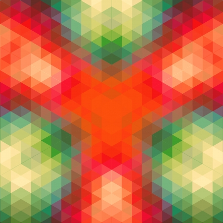 retro geometric pattern  vector optic effect texture Stock Vector - 19892019