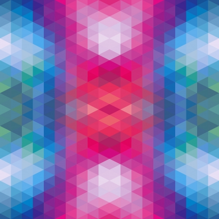 Abstract Ethnic Seamless Geometric Pattern  Vector Illustration Stock Vector - 19892015