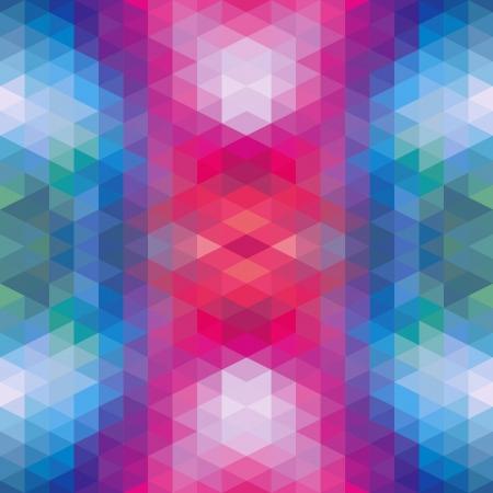Abstract Ethnic Seamless Geometric Pattern  Vector Illustration Stock Vector - 19892015