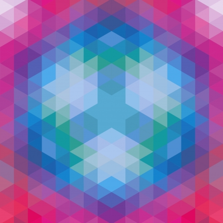 retro geometric pattern  vector optic effect texture Stock Vector - 19892016