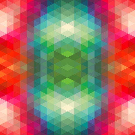 Abstract Ethnic Seamless Geometric Pattern  Vector Illustration Stock Vector - 19892017