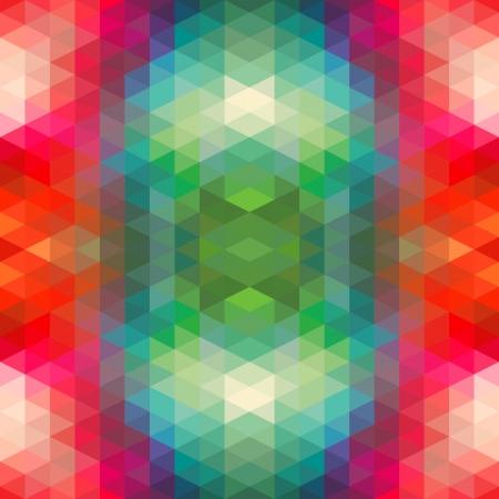 Abstract Ethnic Seamless Geometric Pattern  Vector Illustration Stock Vector - 19892017