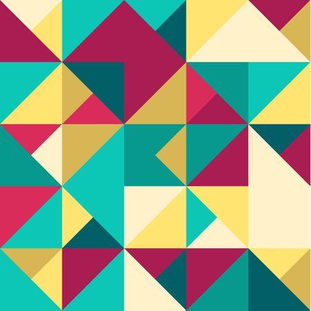 Abstract Geometric Seamless Pattern. Modern stylish texture. Repeating geometric tiles.