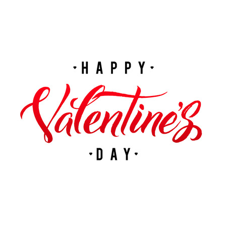 Happy Valentines Day Hand Lettering