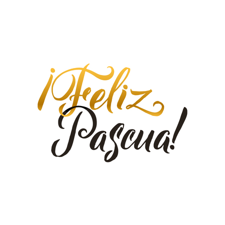 Happy easter hand lettering modern calligraphy style vector happy easter hand lettering modern calligraphy style vector illustration greeting card spanish text templates m4hsunfo