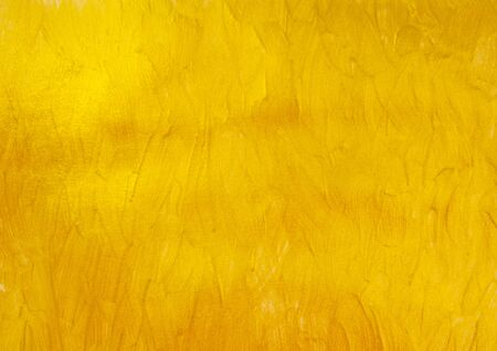 Gold Texture Paint Stain Illustration. Hand drawn brush stroke Grunge Background. Abstract gold glittering textured art illustration