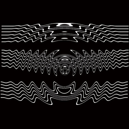 lines black and white Vector