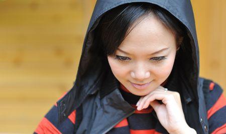 Beautiful woman eyelashes Stock Photo - 6096574