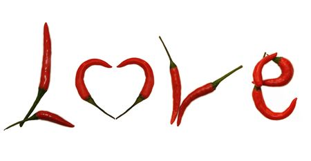 hottest: Pepper Letter LOVE
