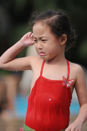 crying girl Stock Photo - 6614705