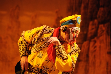 china art: china Opera Monkey King