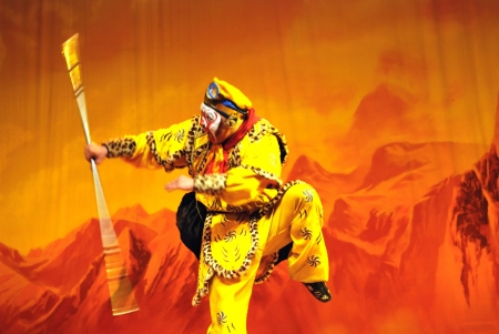 china Opera Monkey King Stock Photo - 6825892