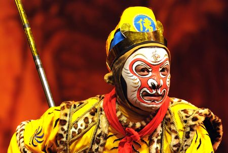 teatro antiguo: China opera Monkey King