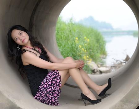 adult rape: sexy asian girl with beautiful legs
