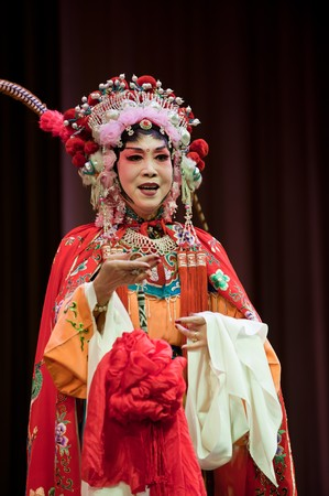 china opera Actress Stock Photo