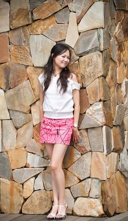 asian woman tooth smile Stock Photo - 7346532