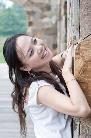 asian woman tooth smile Stock Photo - 7346511