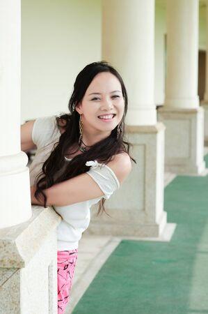 asian woman tooth smile Stock Photo - 7346504