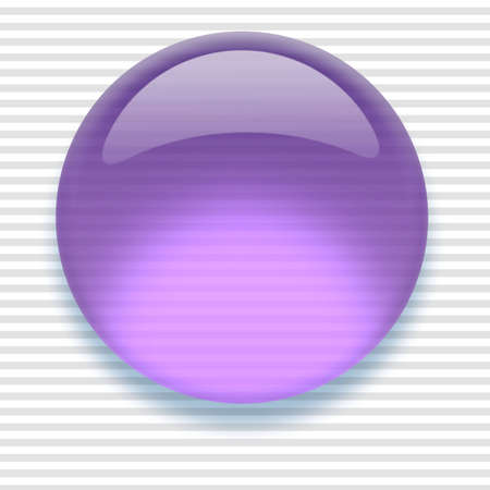 Shiny transparent high-resolution Aqua button with shadow