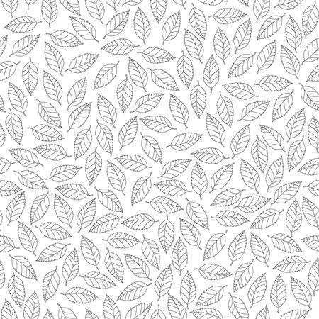 leaves pattern: leaves pattern Illustration