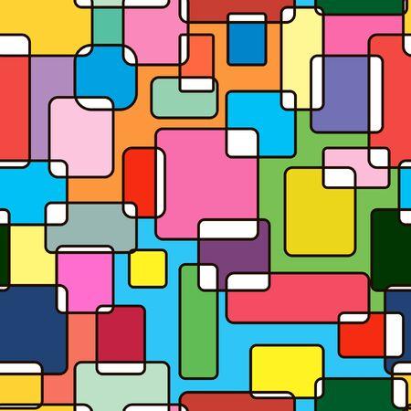 multicoloured: Multi-coloured seamless abstraction Illustration