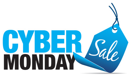 Cyber ​​Monday Sale Stock Illustratie