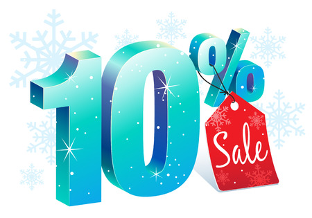 Ten Percent Winter Sale Discount