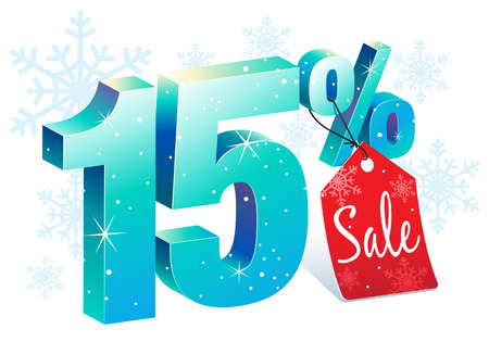 Fifteen Percent Winter Sale Discount