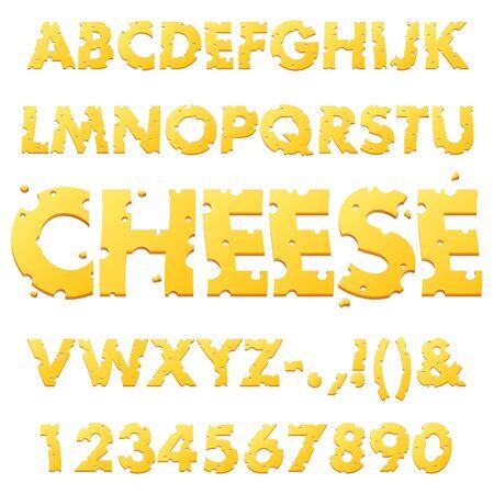 スイスチーズ アルファベット
