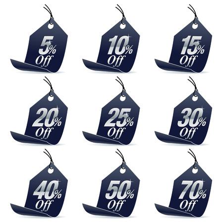 pricetag: Shopping Sale Discount Black Price Tag