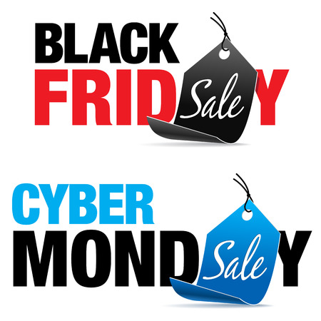 black: Black Friday and Cyber Monday Sale