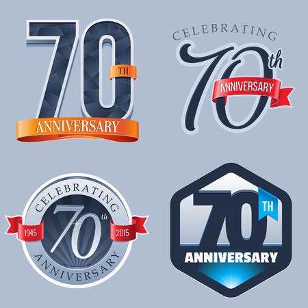 70 年周年記念ロゴ