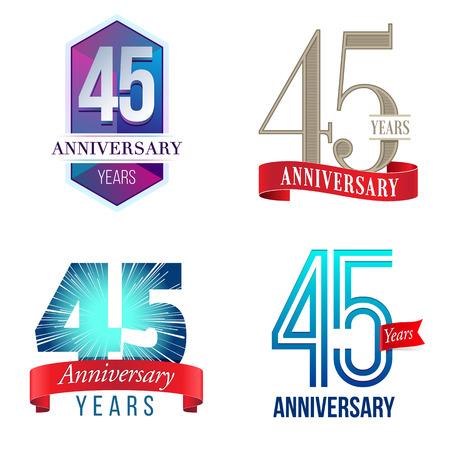 45 周年記念