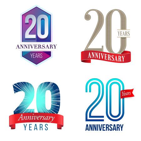 20 年周年記念ロゴ