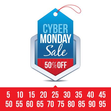 pricetag: Cyber Monday Sale Badge